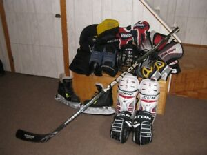 Equipement d'hockey