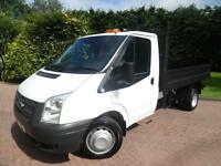 2013 Ford Transit T350 2.2TDCi LWB SINGLE CAB TIPPER