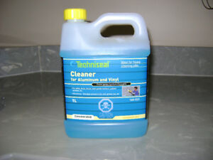 VINYL AND ALUMINUM CLEANER and MORE