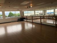 Dance Studios for Rent