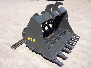WGT Skeleton Buckets - Excavator/Backhoe