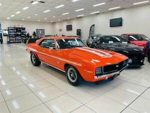 1969 Chevrolet Camaro SS Orange 3 Speed Automatic Coupe Carss Park Kogarah Area Preview