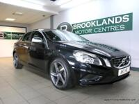 Volvo S60 2.0 D3 R-DESIGN 163PS [3X SERVICES, SAT NAV, LEATHER and HEATED SEATS]