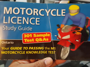 Motorcycle  Licence Study Guide/Test Book