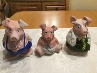 Nat West Savings Pigs