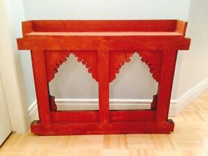Double hand carved wooden frame West Island Greater Montréal image 8