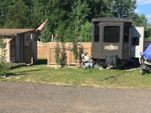Poplar Grove RV Park Kashabowie Northern Ontario trailer camp
