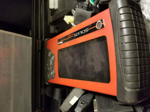 snap on solus scanner with keys