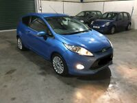 2010 60 Reg Ford Fiesta 1.3cc titanium guaranteed cheapest in country