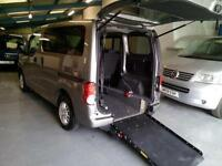 2010 Nissan NV200 Diesel Wheelchair Disabled Accessible Vehicle Car