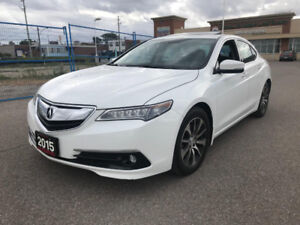 2015 Acura TLX Tech Package NAVI LEATHER BACK UP CAM