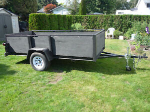 FS  - Large Open - Utility Trailer - with 3500 lb Axel.