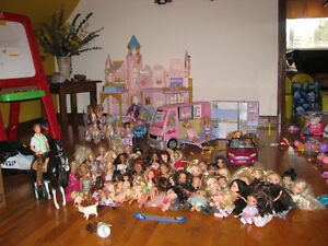 Lot de barbies