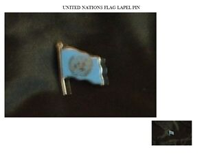 VINTAGE UNITED NATIONS FLAG LAPEL PIN Peterborough Peterborough Area image 1