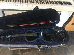 Blue Hyburn Electric Violin