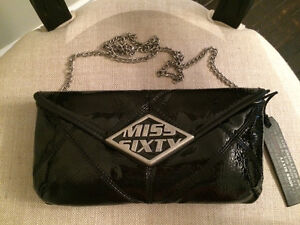 Miss Sixty Clutch with chain cross body strap Sarnia Sarnia Area image 1
