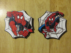 Marvel Comic Book SPIDER-MAN SPIDER MAN Coaster Coasters 1998
