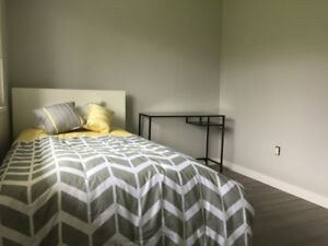 Furnished room w/ shared bath *ALL UTILITIES INCL