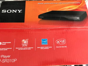 NEW ~ SONY DVD PLAYER  with REMOTE  $10
