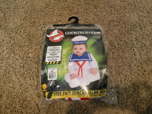 Infant Stay Puft Halloween Costume- Size 6-12 months