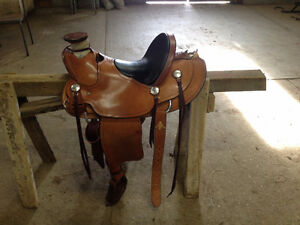 "14"" Roy McCaughey Hand-made Wade Saddle"