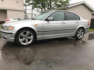 BMW 325i 2005 grise