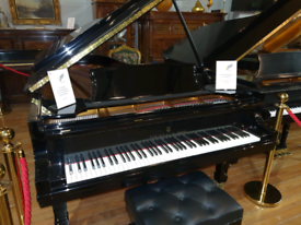 Steinway Model D concert grand piano black polyester for sale