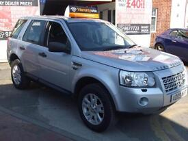 LAND ROVER FREELANDER 2 2.2Td4e 158bhp 4X4 E XS SAT NAV WARRANTY & FINANCE