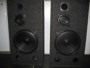 Stereo Speakers Large with Great Sound