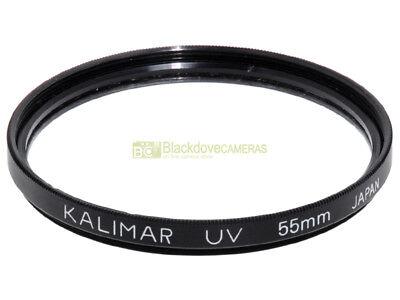 55mm. filtro UV Kalimar. Ultraviolet filter.