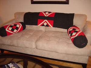 Bolster set for diwan (5 pieces) perfect for the college student West Island Greater Montréal image 1