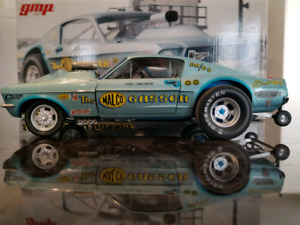 1:18 Diecast GMP 1967 Ford Mustang Malco Gasser Ohio George