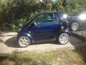 2006 Smart Fortwo Black Coupe (2 door)
