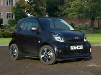 2020 smart FORTWO ELECTRIC COUPE 60kW EQ Passion Advanced 17kWh 2dr Auto (22kWCh