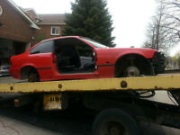 BMW e36 1994 318i Coupe Part Out 3 series Red LEFTOVER PARTS
