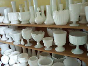 Lots of Milk Glass