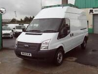 Ford Transit T350 lwb High Roof 100ps DIESEL MANUAL WHITE (2014)