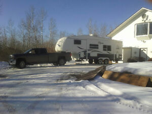 trailer 5th wheel, 25'8 w expando