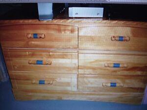 5 pc bedroom set children's wood furniture bedroom set