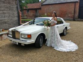 Rolls Royce Wedding Car