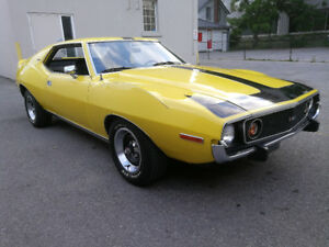 1973 AMC Javelin AMX Beautiful Car Very Rare in Great shape