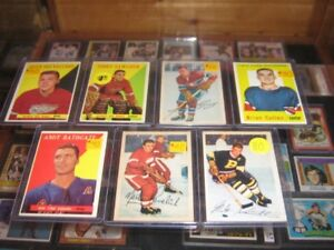 Vintage Hockey Cards 1950s/60s