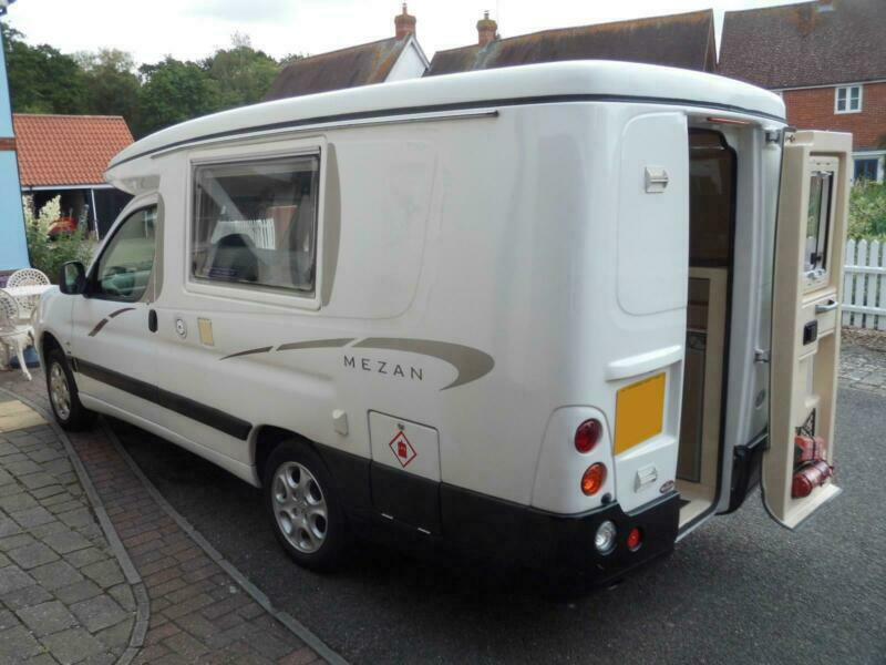 Auto Sleeper Mezan 2 Berth Pop Top Motorhome | in Sudbury, Suffolk | Gumtree