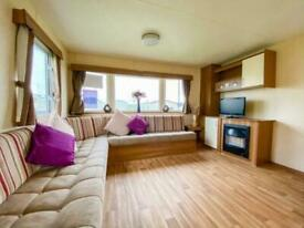 Static caravan for sale double glazed and centrally heated