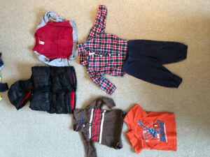 18 month boy winter jacket and clothes