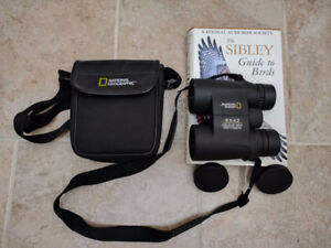 National Geographic 8x42 Binoculars +Sibley Guide to Birds