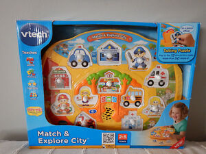 Vtech Match & Explore City