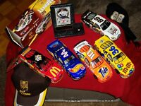 Dale  Jarrett  and  nascar  collectable