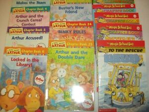 12 Arthur Chapter Books and 8 Magic School Bus Chapter Books St. John's Newfoundland image 3