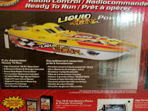 New Bright Liquid Heat RC Boat